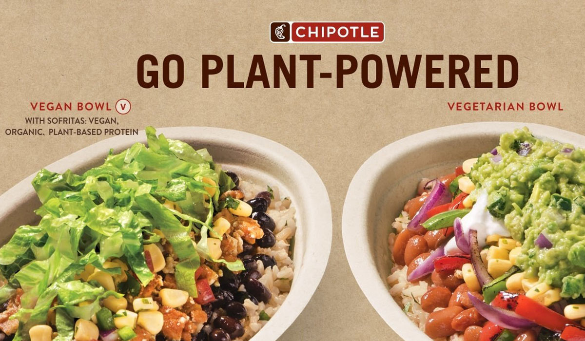 Slim Fast Diet >> Chipotle Introduces 'Plant-Powered' Lifestyle Bowl Options ...