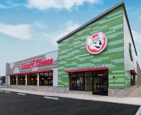 Chuck E Cheese S Unveils Fresh New Design Restaurant