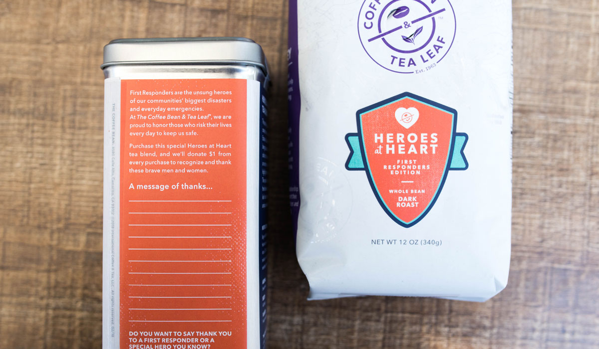 The Coffee Bean & Tea Leaf Launches 'Heroes at Heart ...