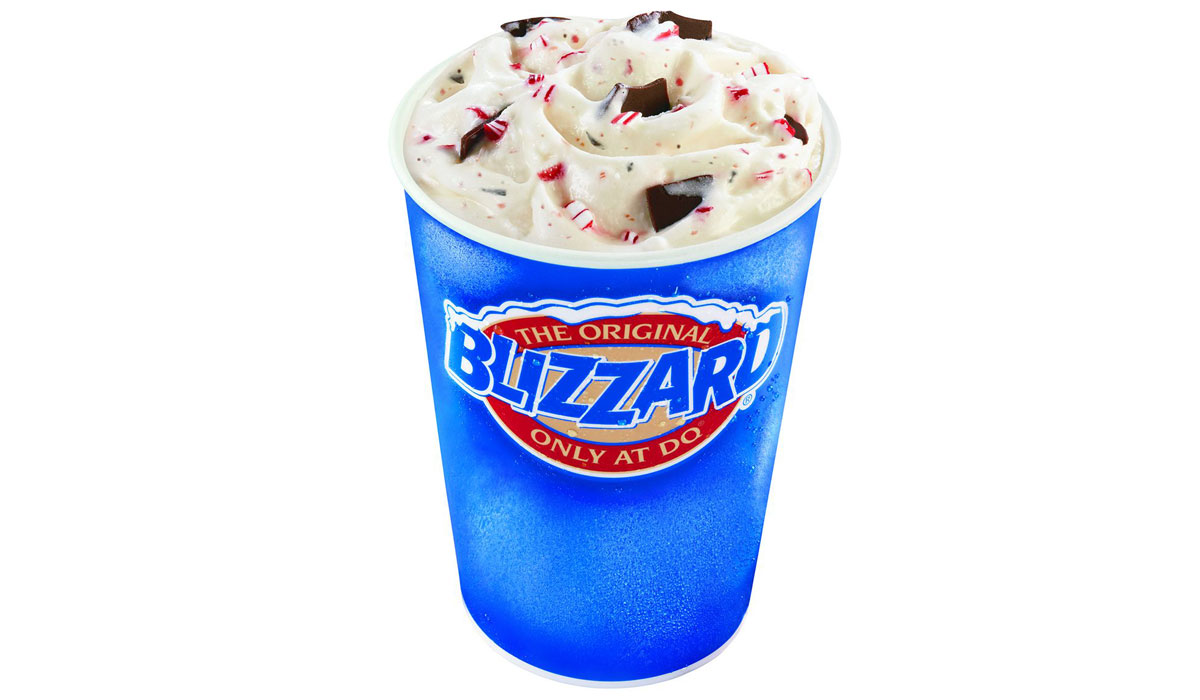 Dairy Queen Spreads Holiday Cheer With Festive Blizzard