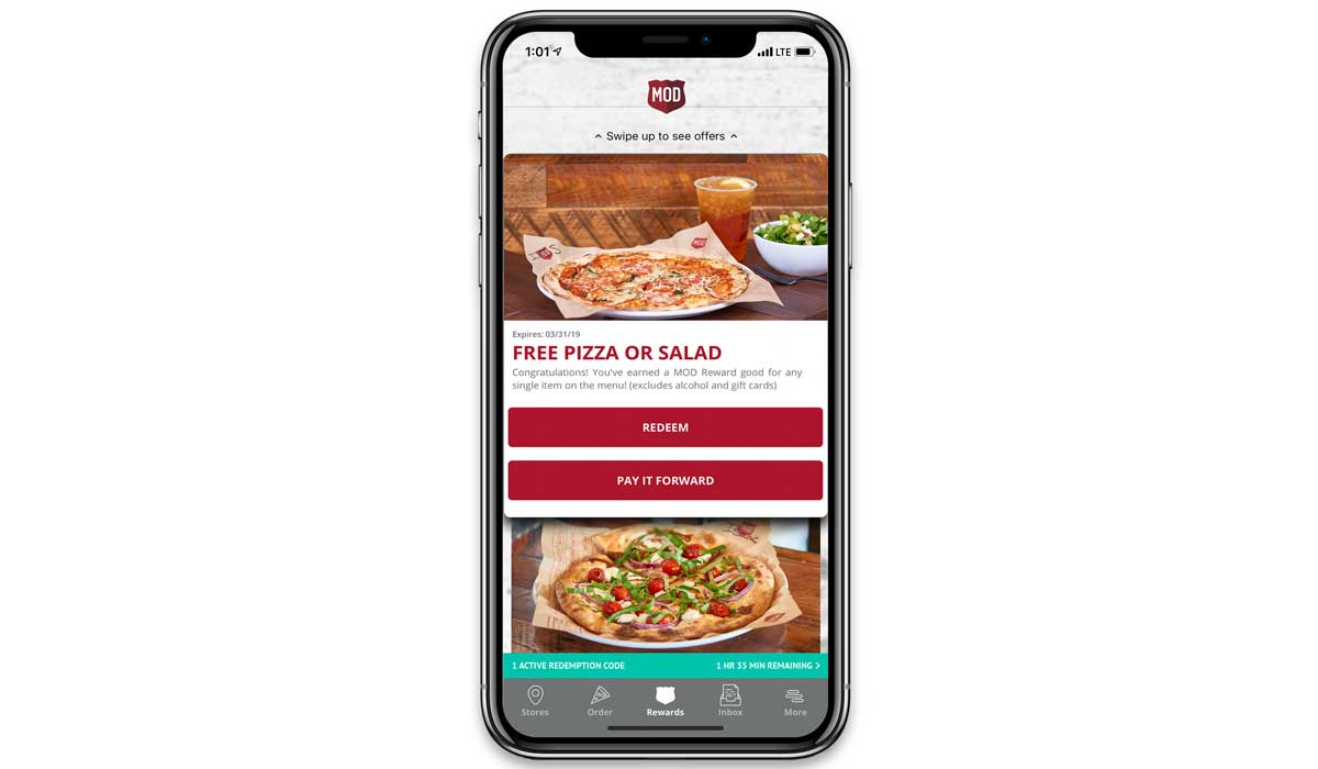 mod pizza unveils new loyalty program with pay