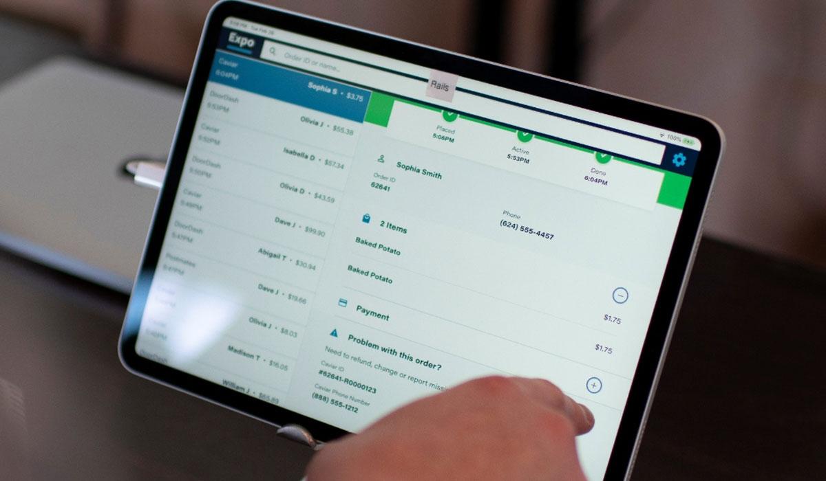 Olo Releases A Tablet Based Order Manager For Restaurants