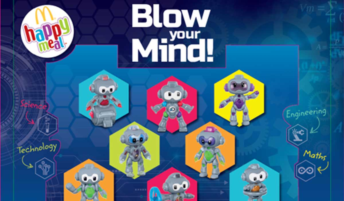 Best Robots For Kids >> McDonald's Partners with Discovery on Mindblowing STEM ...