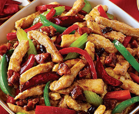 Panda Express has a new chicken dish for the Chinese New Year.