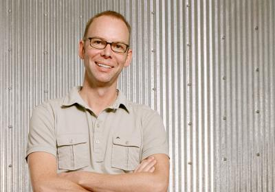 Steve Ells, in NYC, September 2007.