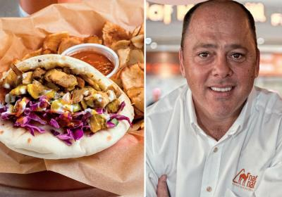 Naf Naf Middle Eastern Grill franchise grows with ex Moes president at helm.