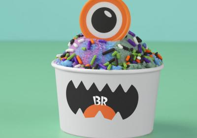 Baskin-Robbins creature creations cup.
