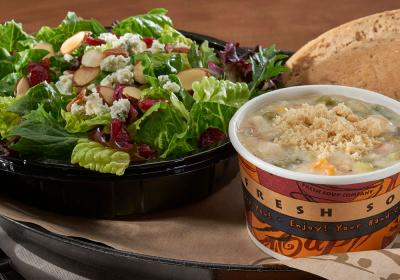 Zoup! Eatery soup and salad.