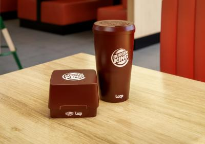 Burger King containers