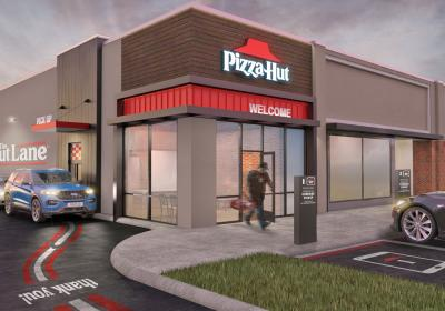 Pizza Hut Hut Lane rendering.