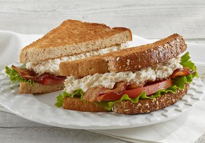 Chicken salad BLT at Chick Salad Chick fast casual restaurant.