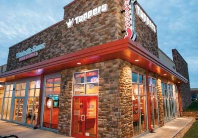 QSR has singled out quick service restaurants like Toppers Pizza as emerging concepts.