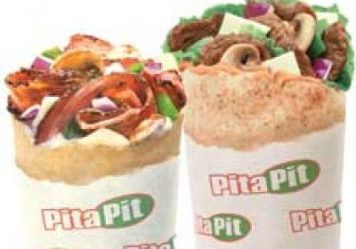 Pita Pit develops its limited time offers at least a year before they menu.