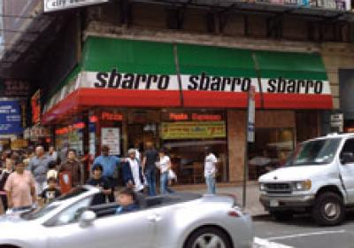 Sbarro's emerged from Chapter 11 bankruptcy early this year.