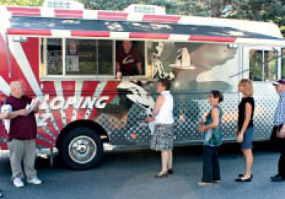 The Galloping Griz food truck brings Mexican-style street food to hungry guests.