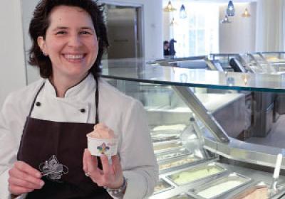 Italian gelateria Vivoli opened its first U.S. location in New York City.