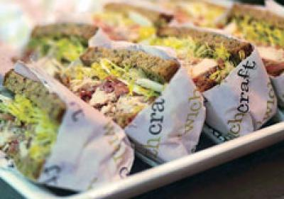 Craft Restaurants spun off a sandwich fast casual called 'wichcraft.