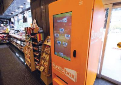 Vending machines are able to provide fresher and more innovative food options.