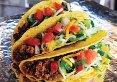 Bullritos offers tacos, burritos, and other traditional Mexican food options.