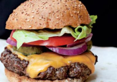 b.good offers fresh, natural burgers in a fast-casual environment.