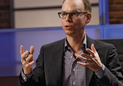 "Steve Ells, CEO of Chipotle, on NBC's ""America's Next Great Restaurant."""