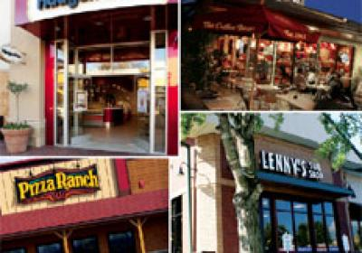 Expanding fast food companies have several real estate options to choose from.