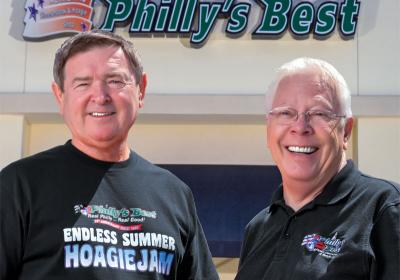 Business partners Ken Gray and Larry Erdman build franchise together.
