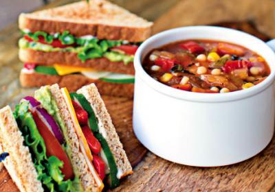 Healthier quick service restaurant menus serve healthier minded customers.