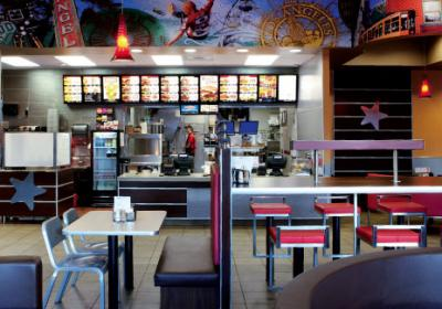 Fast food brands discover restaurant design can affect customer behavior.