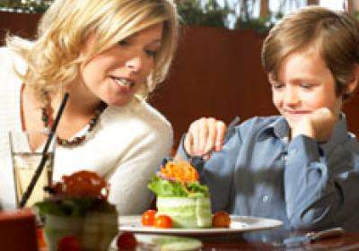 Moms have simple, yet legitimate criteria  to what makes a restaurant attractive