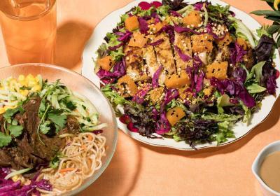 Junzi Kitchen fall menu spread