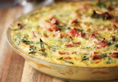 A quiche hits the spot any time of day.