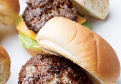 Small portion menu items like sliders can pack many flavors into little bites.