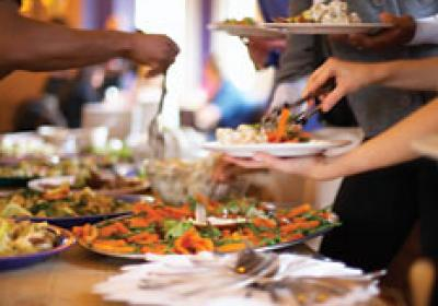 Some quick-serve restaurants find that catering is a strong source of revenue in
