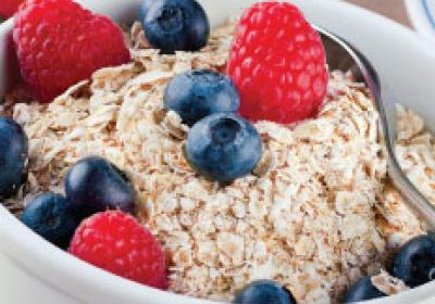 Superfoods like whole grains and oatmeal offer healthy menu alternative.