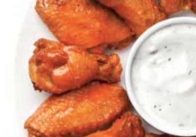 Chicken wings are popping up on several fast food restaurant menus.