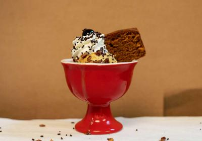 Butter & Cream's pumpkin spice sundae