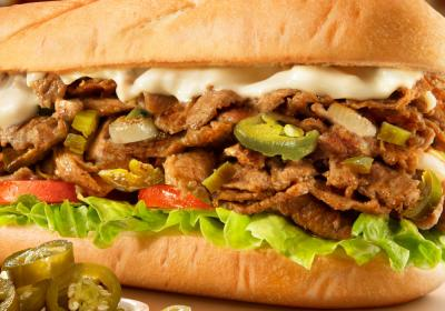 The Jalapeno Cheesesteak at Charleys.