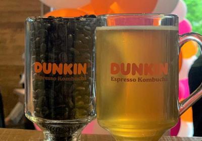 Dunkin' Espresso Kombucha