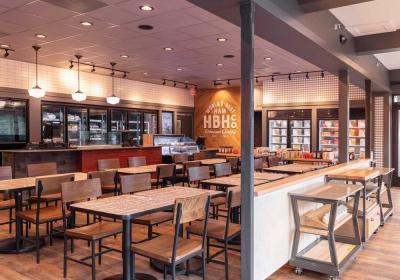 New interior of The Honey Baked Ham Company.