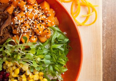 Native Foods Cafe revamps brand and menu at Chicago location.