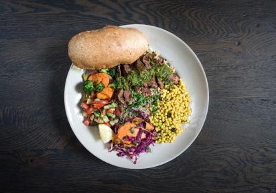 Roti steak offered in its fast casual restaurants