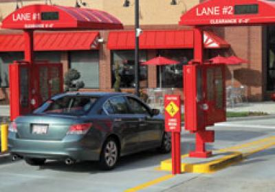 A Chick-fil-A restaurant boosted sales by opening a second drive thru lane.