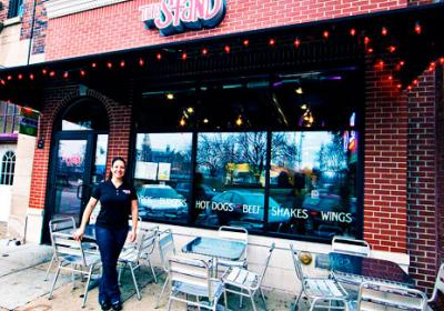 Chicago area quick serve The Stand features sustainable operations in restaurant