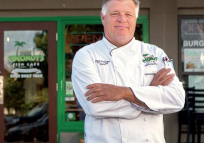 Hawaii themed QSR restaurant owner shares tips on fusion menu development.