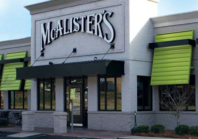 McAlister's unveiled a new store prototype with new design elements in 2012.