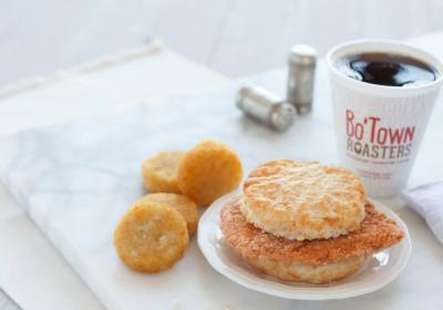 Bojangles' Cajun Filet Biscuit.