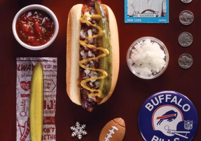 Charlotte NC based fast casual restaurant JJs inspired by Buffalo hot dog heritage.