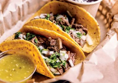 San Francisco based fast casual taco joint features beef tongue on popular menu.