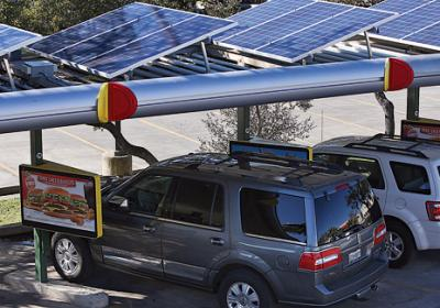 Fast food chains use sustainable store tools to save money on energy costs.